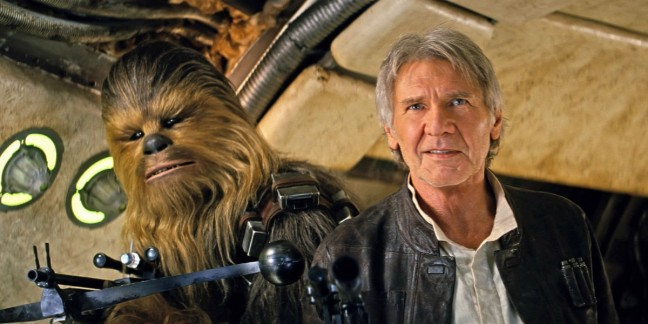 Old Han and Chewbacca